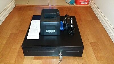 PayPalHere POS Bundle: Star TSP654LAN Receipt Printer & Cash Drawer Combo