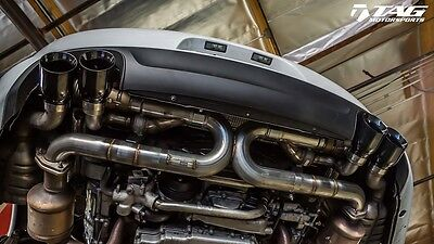 AWE Tuning Porsche 991 SwitchPath Exhaust for Non PSE cars No Tips - Free Ship!