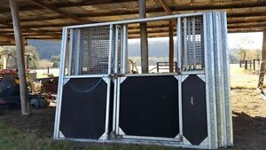 BLOCK OF 10 PRE FAB STABLES Denman Muswellbrook Area Preview