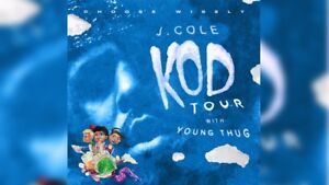 Selling Two Floor Tickets for J Cole KOD Tour October 4