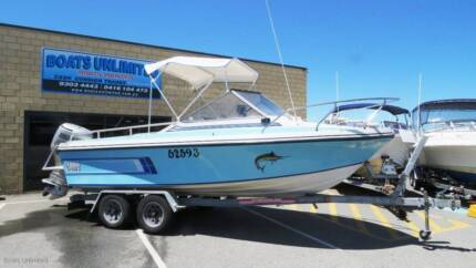 BARON SPORTSMAN WITH A FOUR STROKE, GREAT FIRST BOAT
