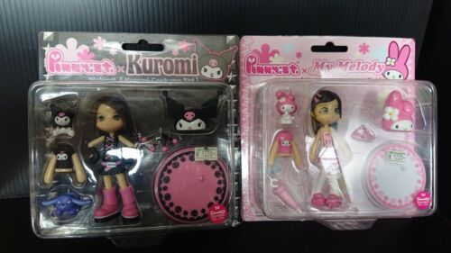 Pinky Street Kuromi My Melody Costume Set PC006 007 Sanrio Lot 2 Figure