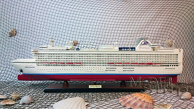 Sapphire Princess Ready Display Wooden Cruise Ship Model