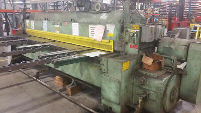 12 X 14 Wysong 1225 Mechanical Shear Our Stock 5651