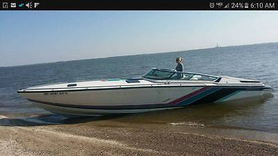 1989 FORMULA SR-311 OFFSHORE BOAT TWIN 454 WITH TRAILER NO RESERVE SCARAB DONZI