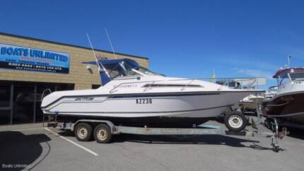 WHITTLEY SEA LEGEND 730 FAMILY FISHING CRUISER NOW REDUCED
