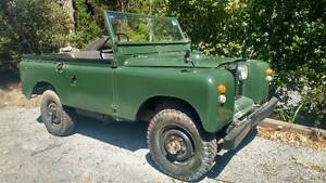 1967 Land Rover Series 2A Montrose Yarra Ranges Preview