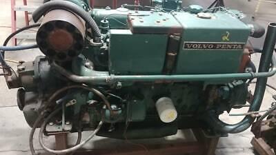 Volvo Penta Tamd70e  Marine Diesel Engine Twin Disc Mg-507 21 Transmission