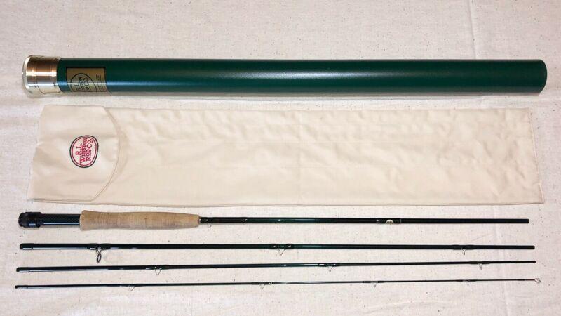 R.L. Winston BllX Boron/Graphite fly rod 4 pc 9 ft 5 wt w/original sock & tube