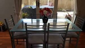 glass dining table set 150 00 glass dining table with 6 chairs table