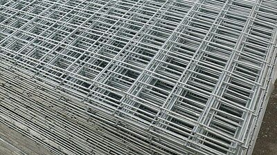 Galvanised Welded Wire Mesh Panel 3600(12') x 1800(6') x 50mm x 50mm x 3.0mm