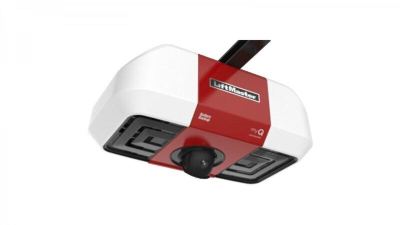 Liftmaster 85503 - 267 Battery Backup Belt Drive WiFi W/ Intg Camera W/O Rail
