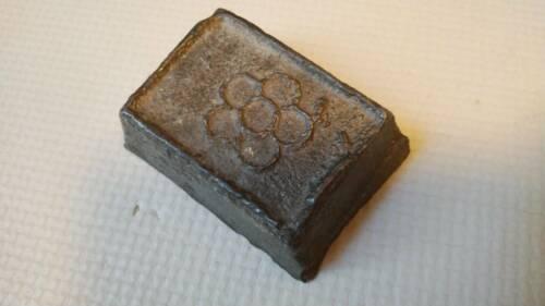 Korean Joseon Dynasty Lee Royal Familiy Silver Ingot Bar / 693g