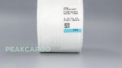 6 Rolls 2 Fiberglass Cloth Tape E-glass Fiber Fabric Plain Weave Seams Molding