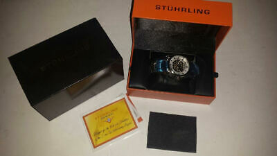 Stuhrling cal.st-90650 LHH Automatic Self-Winding Stainless Steel Silver