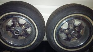 Winter tires 195/75/r14cand rims