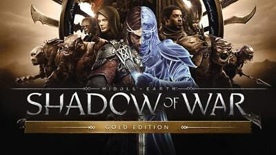 Middle Earth Shadow of War Gold Edition | Steam Key | PC | Digital | (Middle Earth Shadow Of War Pc Gold Edition)