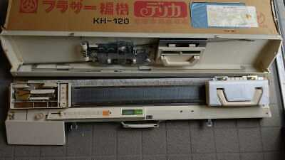 Brother KH-120 3.5㎜ Knitting Knitleader Machine with case From Japan FS