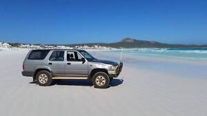 1994 Toyota 4 Runner. 4WD. Only 188XXXkm. With RWC. Camping gear South Fremantle Fremantle Area Preview