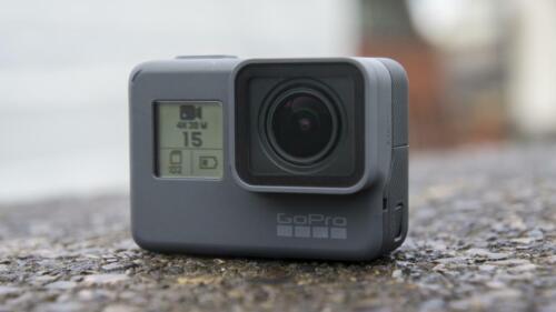 GoPro HERO5 Black 4K Action Waterproof Screen-Touch Camera CHDHX-502