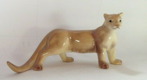 Retired Hagen Renaker  Cougar mt lion