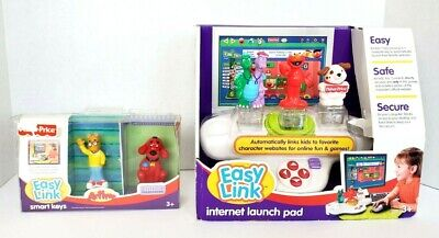 NEW Fisher-Price Easy Link Internet Launch Pad 5 Smart Keys Elmo Arthur Clifford