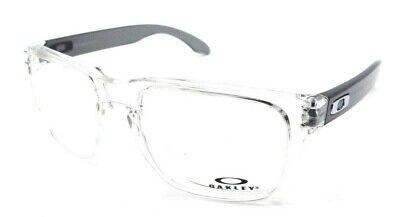 Oakley Rx Eyeglasses Frames OX8156-0354 54-18-137 Holbrook Rx Polished Clear