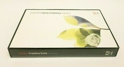 Adobe CREATIVE SUITE Standard Software 5 Disc Macintosh Apple 2004 Serial Number