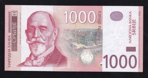 SERBIA ----- 1000  DINARA  2014 ----- UNC -----