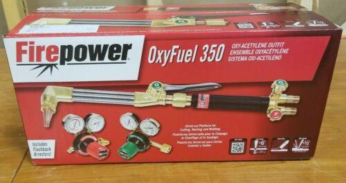 Fire power OxyFuel 350 Ocy-Acetylene Outfit