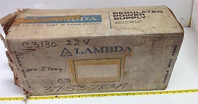 Lambda Regulated Power Supply Lh 122a-2110-4
