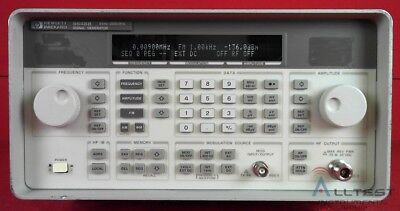 Hp - Agilent - Keysight 8648b Synthesized Signal Generator 9 Khz To 2000 Mhz