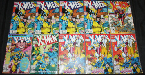 X-MEN COMIC LOT 69PC (VF-NM) + XMEN 2099 + MAGNETO #0 + MICRONAUTS
