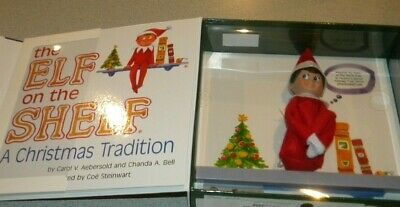 The Elf on The Shelf A Christmas Tradition, Doll and Book Box Set BOY
