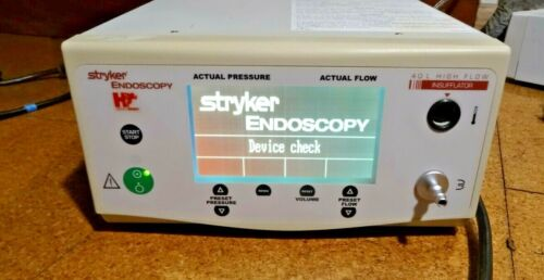 Stryker Endoscopy 0620-040-001  F105 40L High Flow Insufflator Hermes Mult. Avai