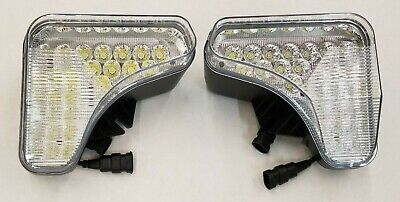 Bobcat Skid Steer Set Of 2 Right Left Led Headlights Replace 7251340 7251341
