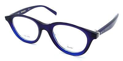 d878c8f135d75 Celine Rx Eyeglasses Frames CL 41464 PJP 46-21-145 Blue Made in Italy