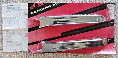 New OEM Honda VT1100C Shadow Sabre Billet Rear Fender Rails  08P57-MCK-A00  Shadow Sabre Billet