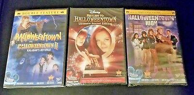 Complete Disney Halloweentown Series 1 2 3 & 4 Movie Pack Halloween DVD free sh.
