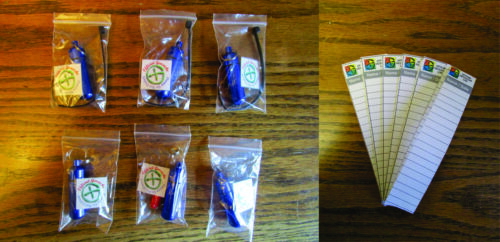 "Practical Geocaching® - Deluxe 2"" Magnetic/Hanging Bison Tube Kit - Blue"