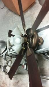 CEILING FAN WITH LIGHT PAID 400 FOR THIS ONE NOW 120