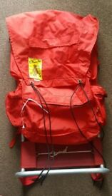 Cobmaster 1970's Light Weight Red Rucksack