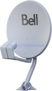 BELL HD SATELLITE DISH & LNBs ( new in box )