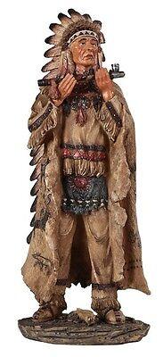 "13.25"" Native Indian Statue Figure Figurine Indio American North"