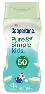 Coppertone Pure and Simple Botanicals Faces Lotions SPF 50