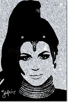 LANA PARRILLA POSTER PRINT PRE SIGNED - 12 X 8 INCH - ONCE UPON A TIME - N.O 2