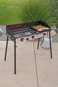 Camp Chef Denali 3 burner propane cook stove