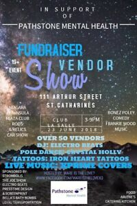 Fundraiser for Pathstones! Come Support Mental Health!