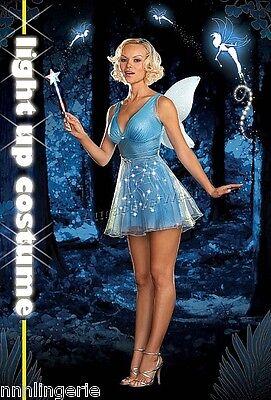 Dreamgirl Lingerie True Blue Fairy Costume Roleplay - True Blue Fairy Costume