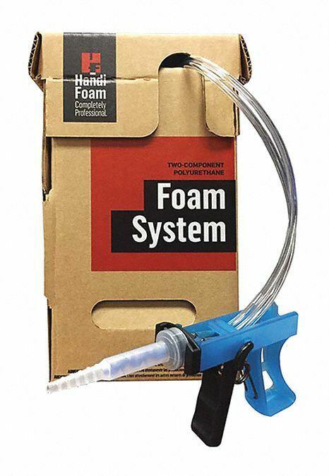 Handi-foam Insulation Insulating Spray Foam Insulation Kit, 4 lb. Two Cylinders,